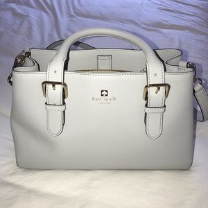 Grey Kate Spade Purse